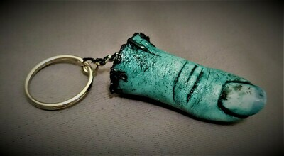 Zombie Finger Keychain