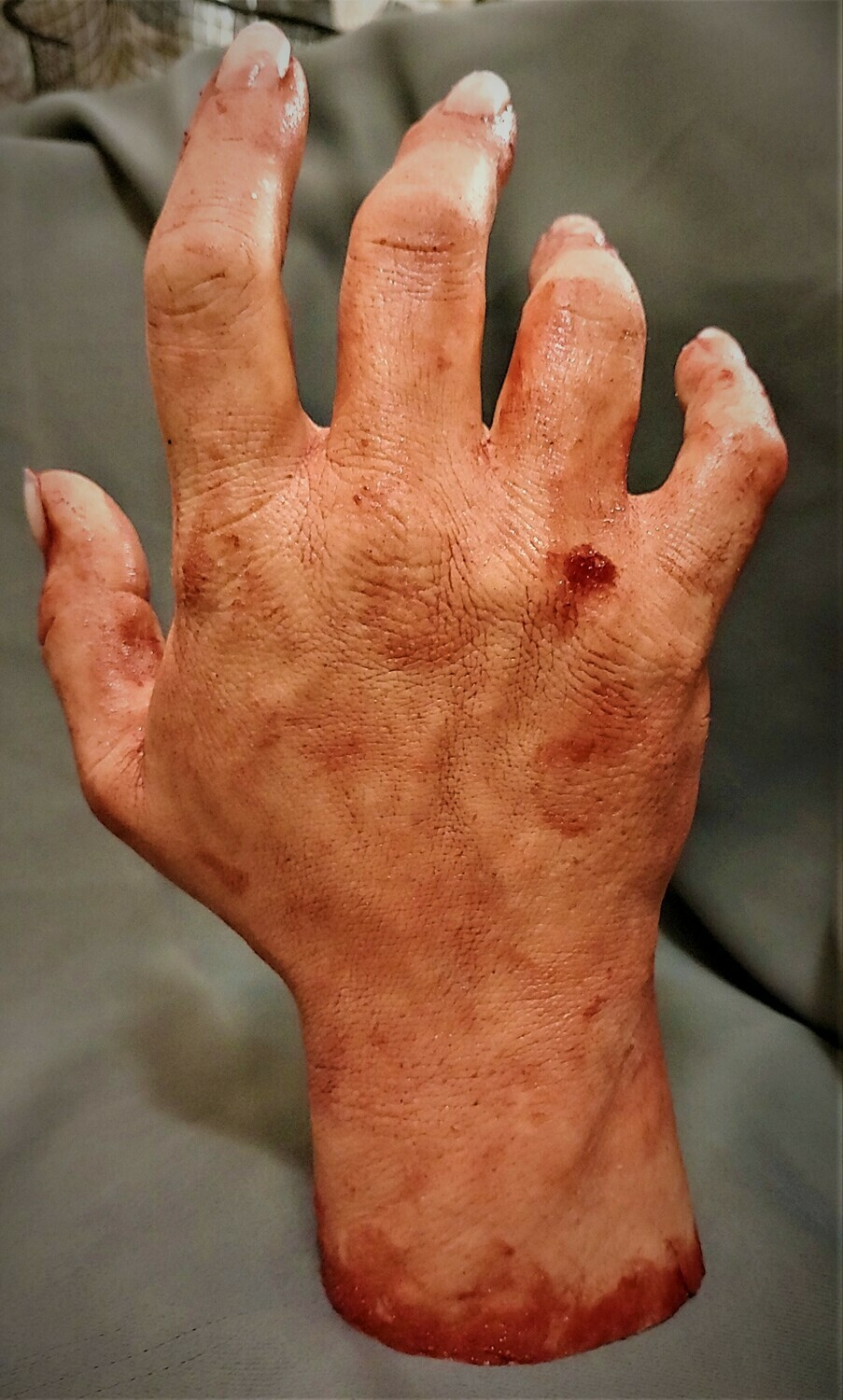Solid Silicone Severed Hand