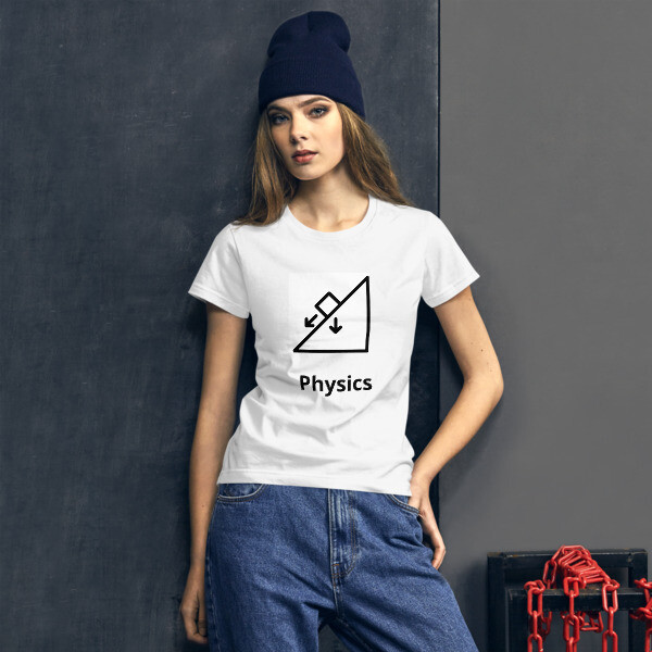 PHYSICS Women's short sleeve t-shirt [STEM Wear Collection]