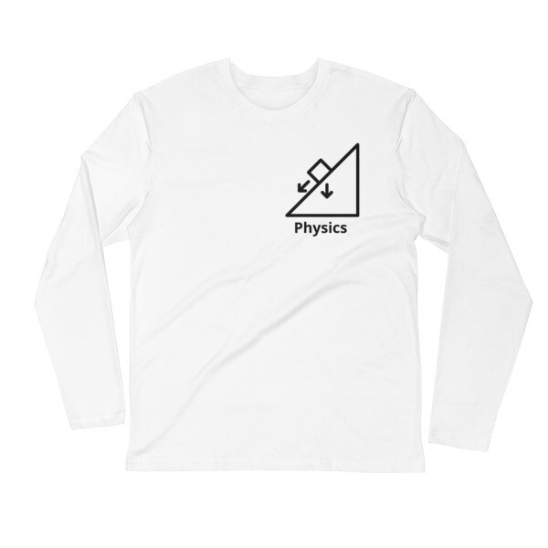 PHYSICS - Long Sleeve Fitted Crew [STEM Wear]