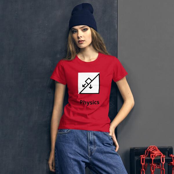 PHYSICS - Women's short sleeve t-shirt [STEM Wear]