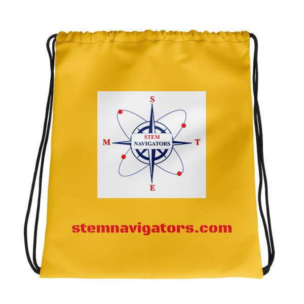 STEM Navigators YELLOW Drawstring bag