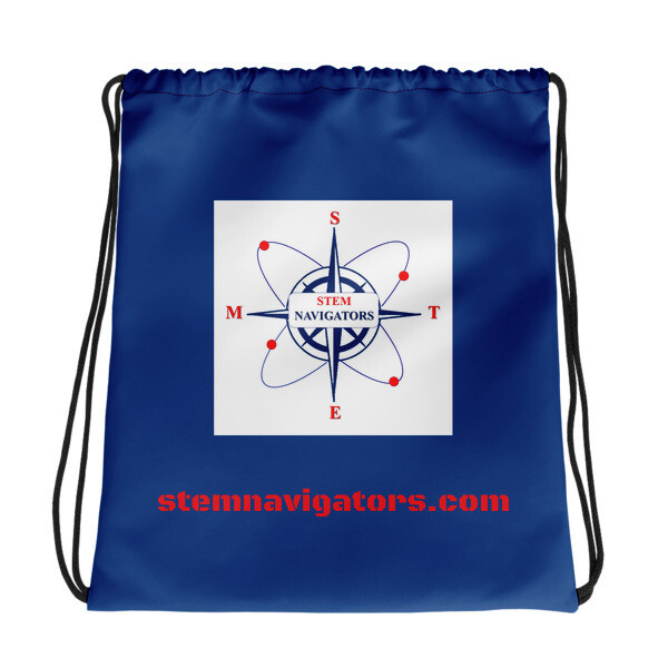 STEM Navigators - BLUE Drawstring bag