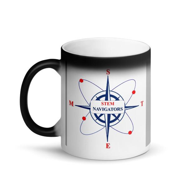 STEM Navigators - Matte Black Magic Mug