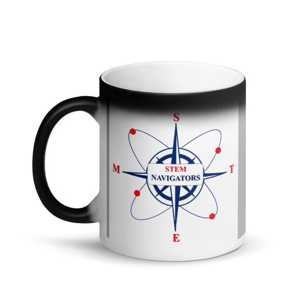 STEM Navigators - Matte Black Magic Mug