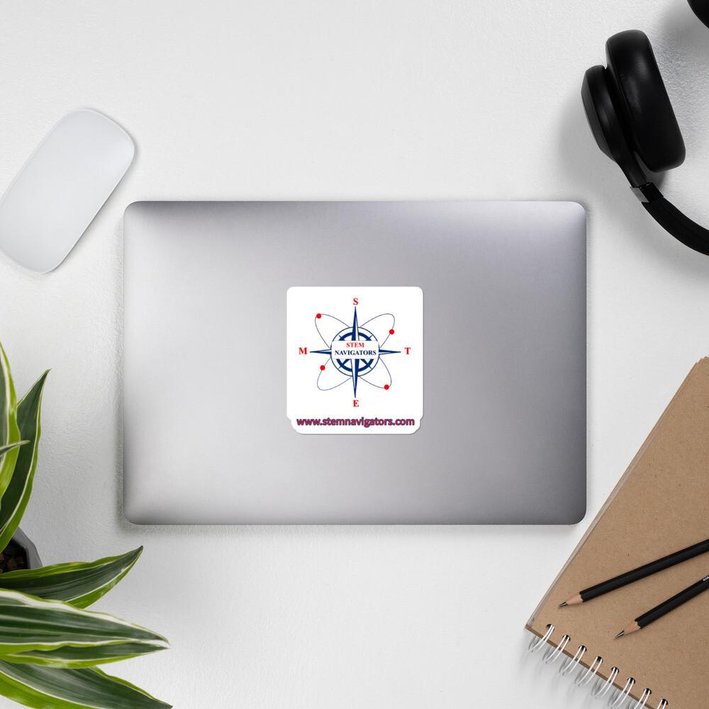 STEM Navigators Bubble-free stickers