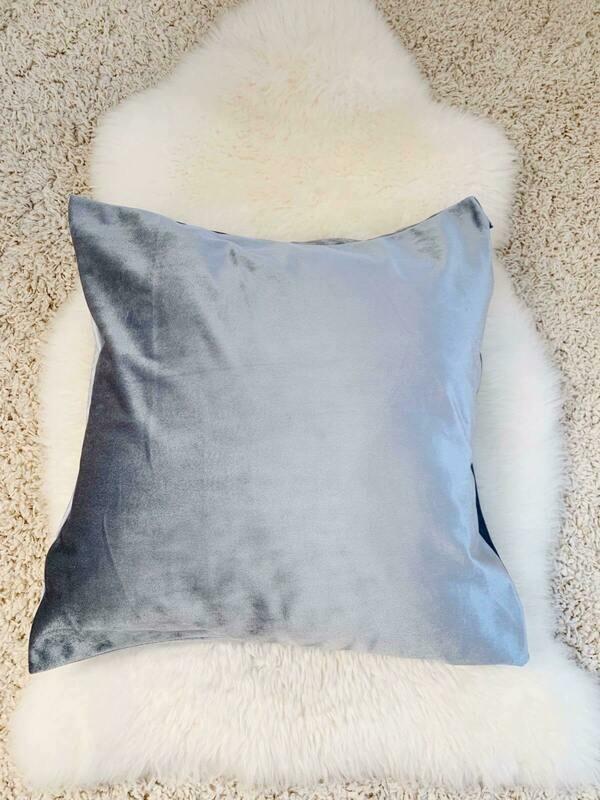 Pillow Case Silver