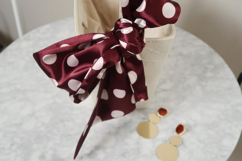 Headband  Red Wine