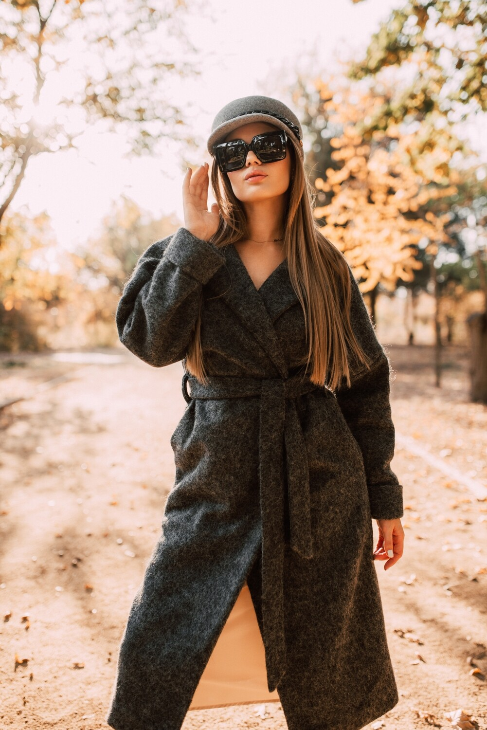 Wool Coat  October Dream