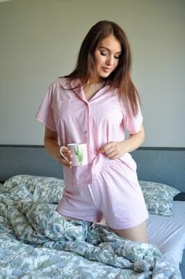 """Cotton Pajama """"Mom and Daughter"""""""