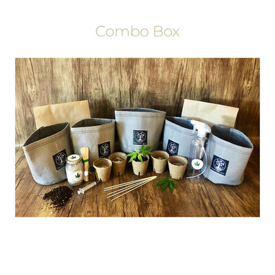 Combo Box - Starter Kit + Seedling Box