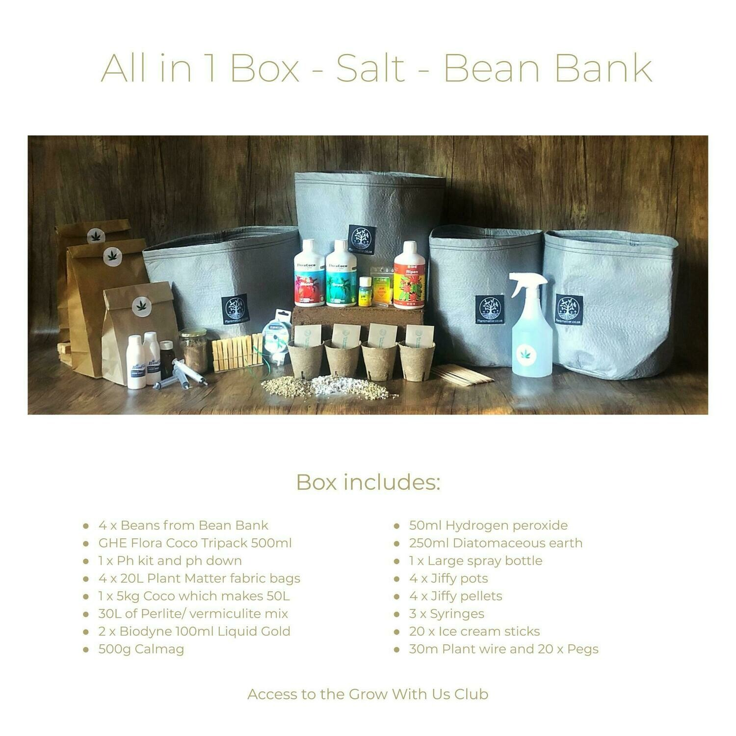 The Bean Bank - All in 1 Box
