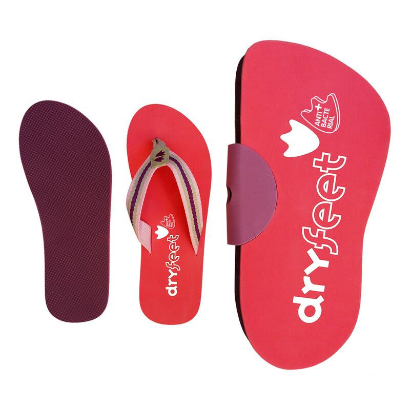Antibacterial Sandals & Carpet Set - Women