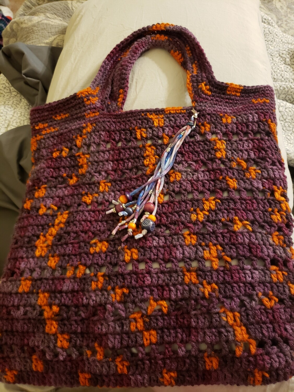 Purple Galaxy Tote