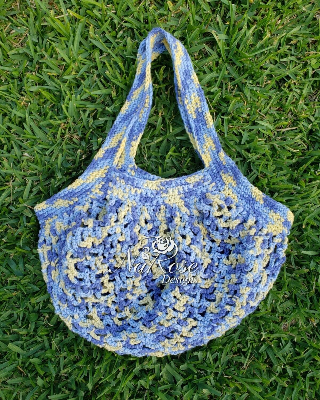 Sunny Blues Market Bag