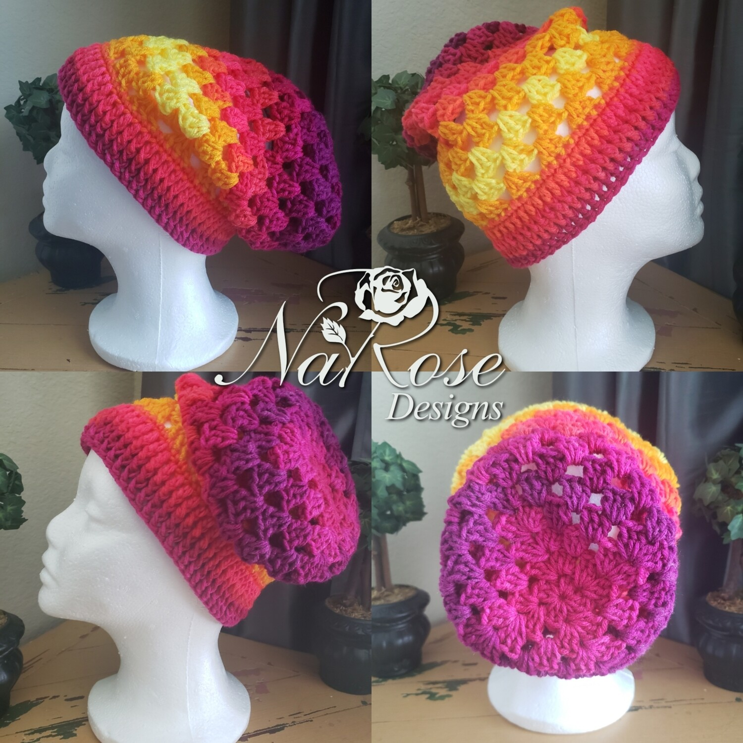 Fruit Punch Slouchy Hat