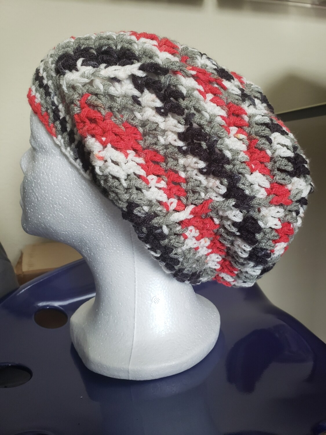 Clean and Crisp Slouchy Hat