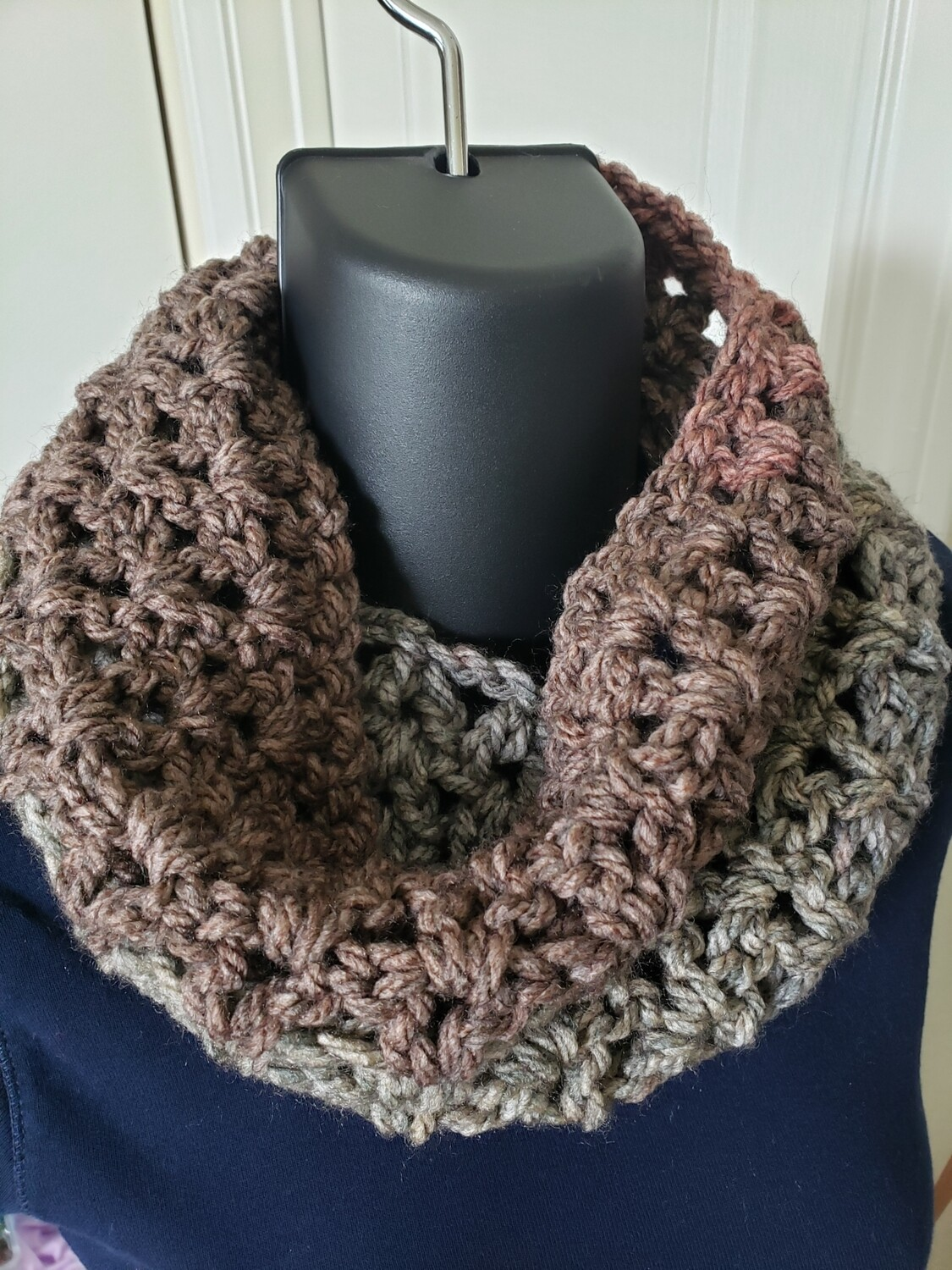 Ginger Spice Cowl