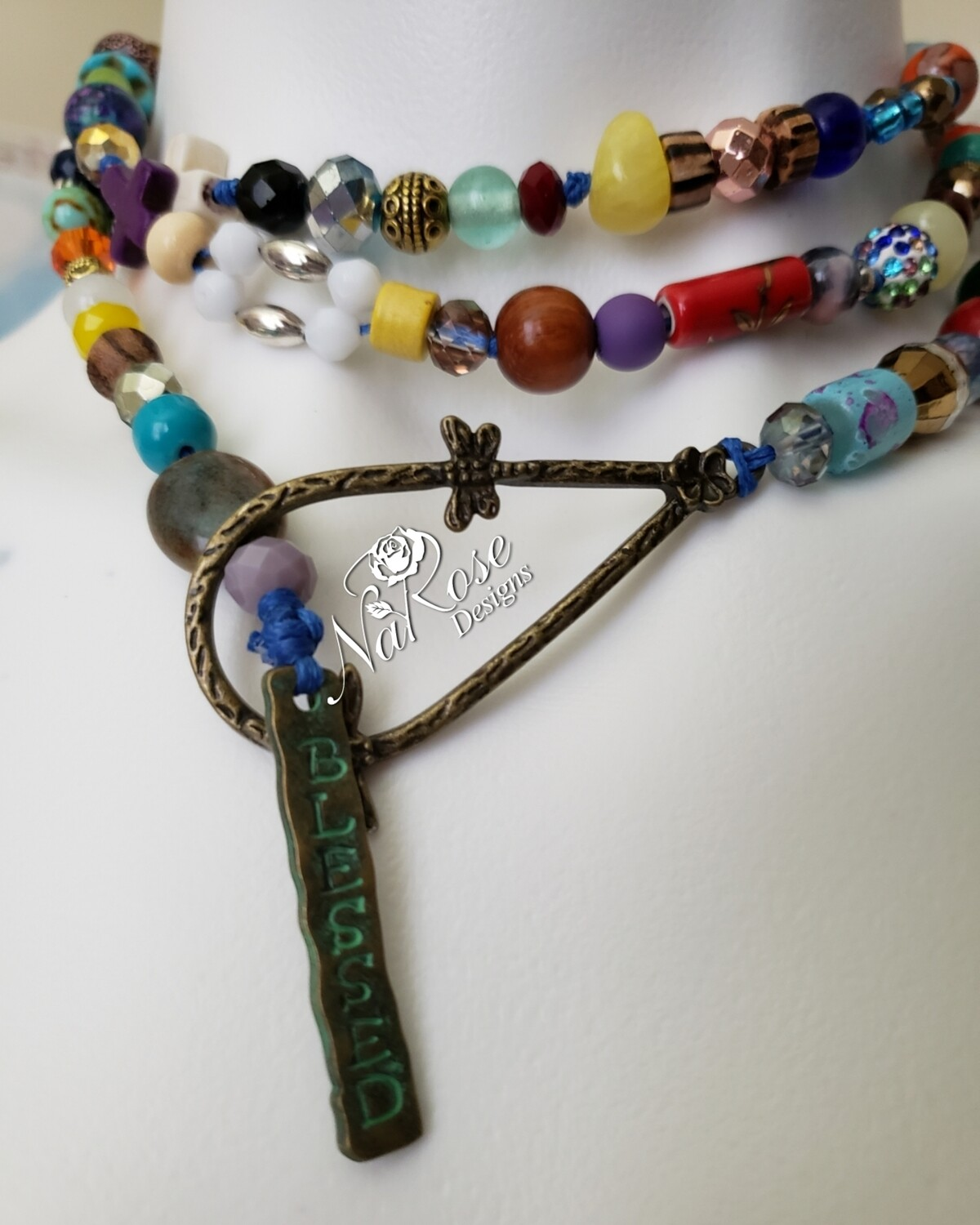 Blessed Bohemian Lariat Necklace