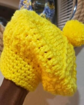 Yellow Baby Beret