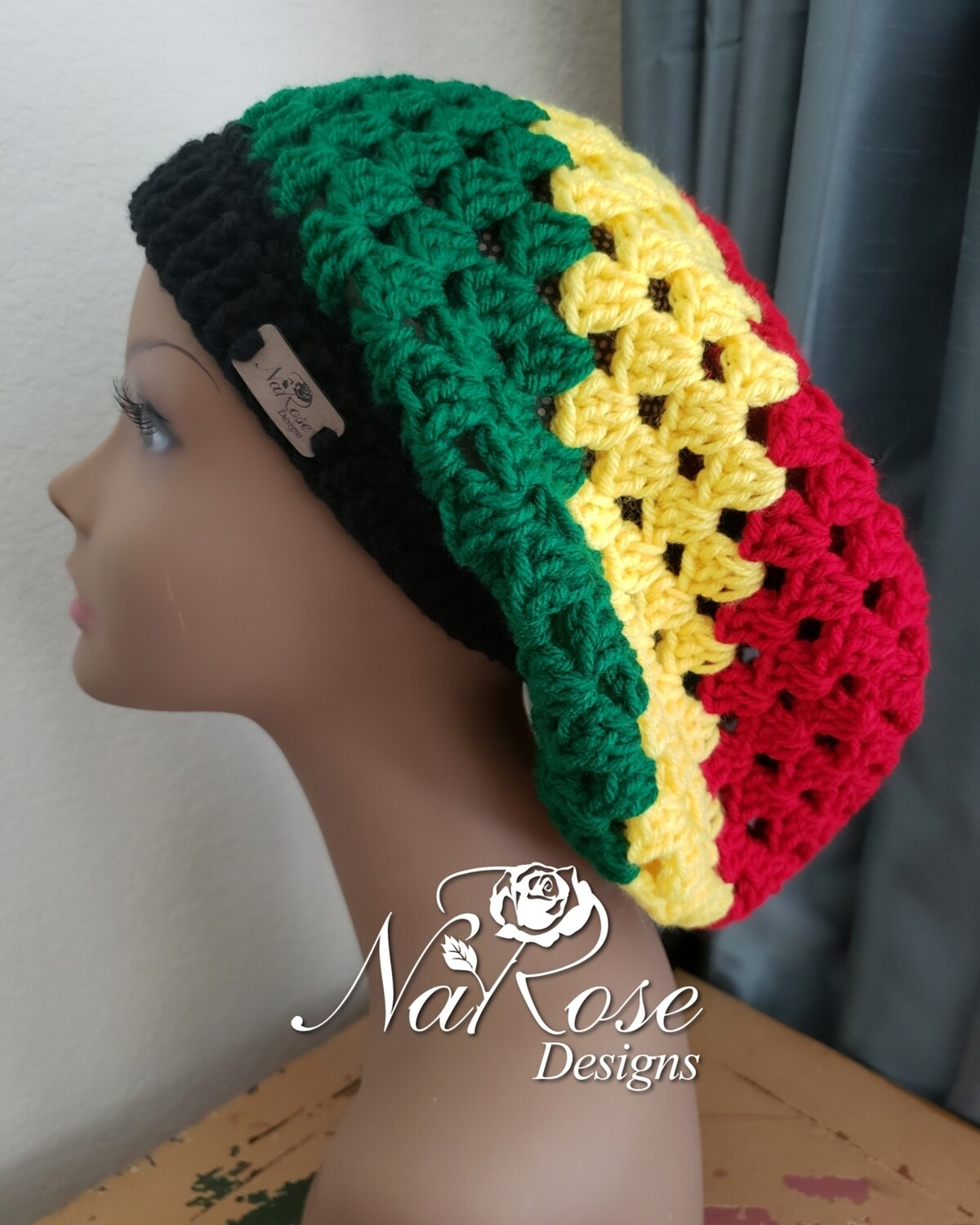 Pan African Slouchy Hat