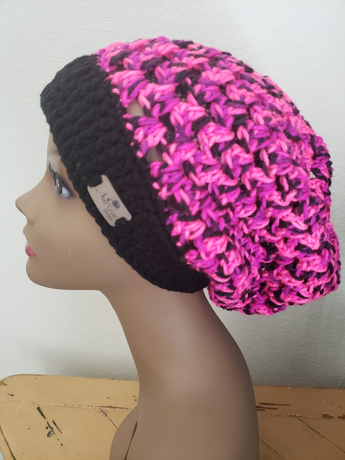 Pink Panther Slouchy Hat