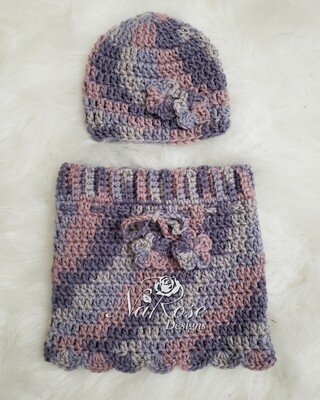 Baby Girl Beanie and Skirt Set