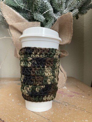 Camo Coffee Cozy