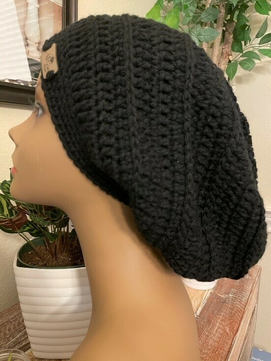 NRD Simple Slouchy Hat Crochet Pattern PDF