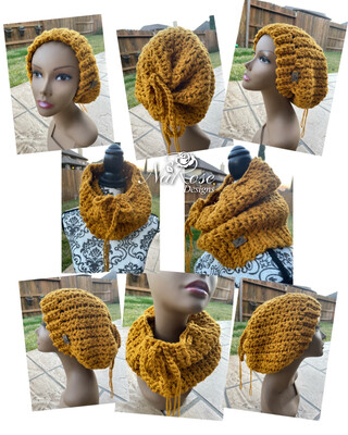 Convertible Hat Cowl - Custom Order