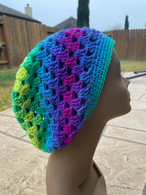 Bright Lights Slouchy Hat