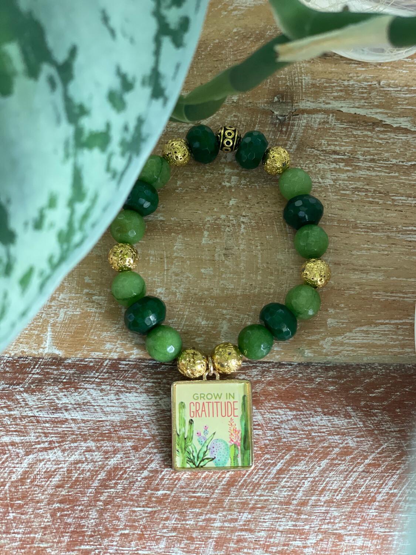 Grow In Gratitude Bracelet