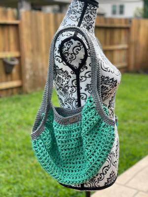 Rainforest Green Market Bag