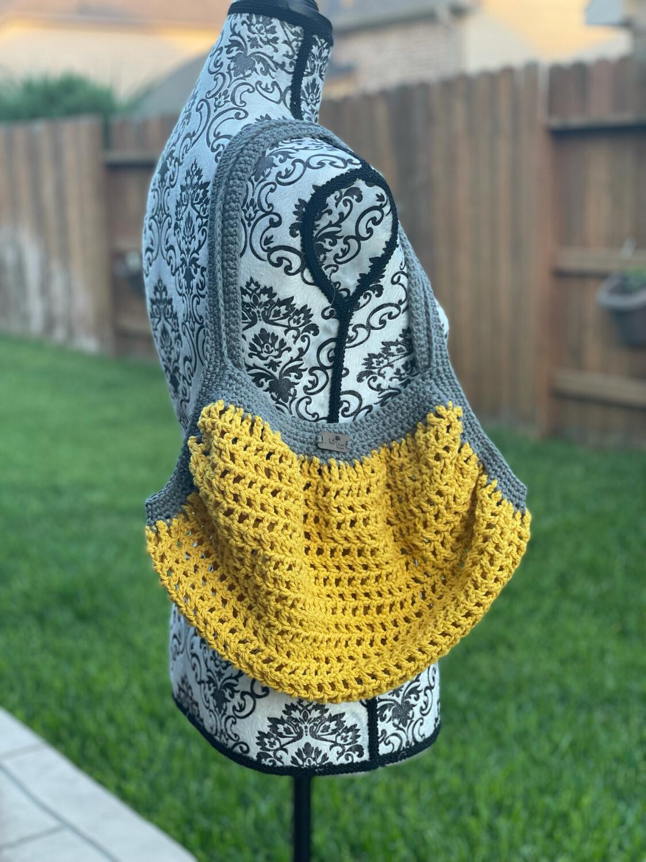 Golden Yellow Market Bag