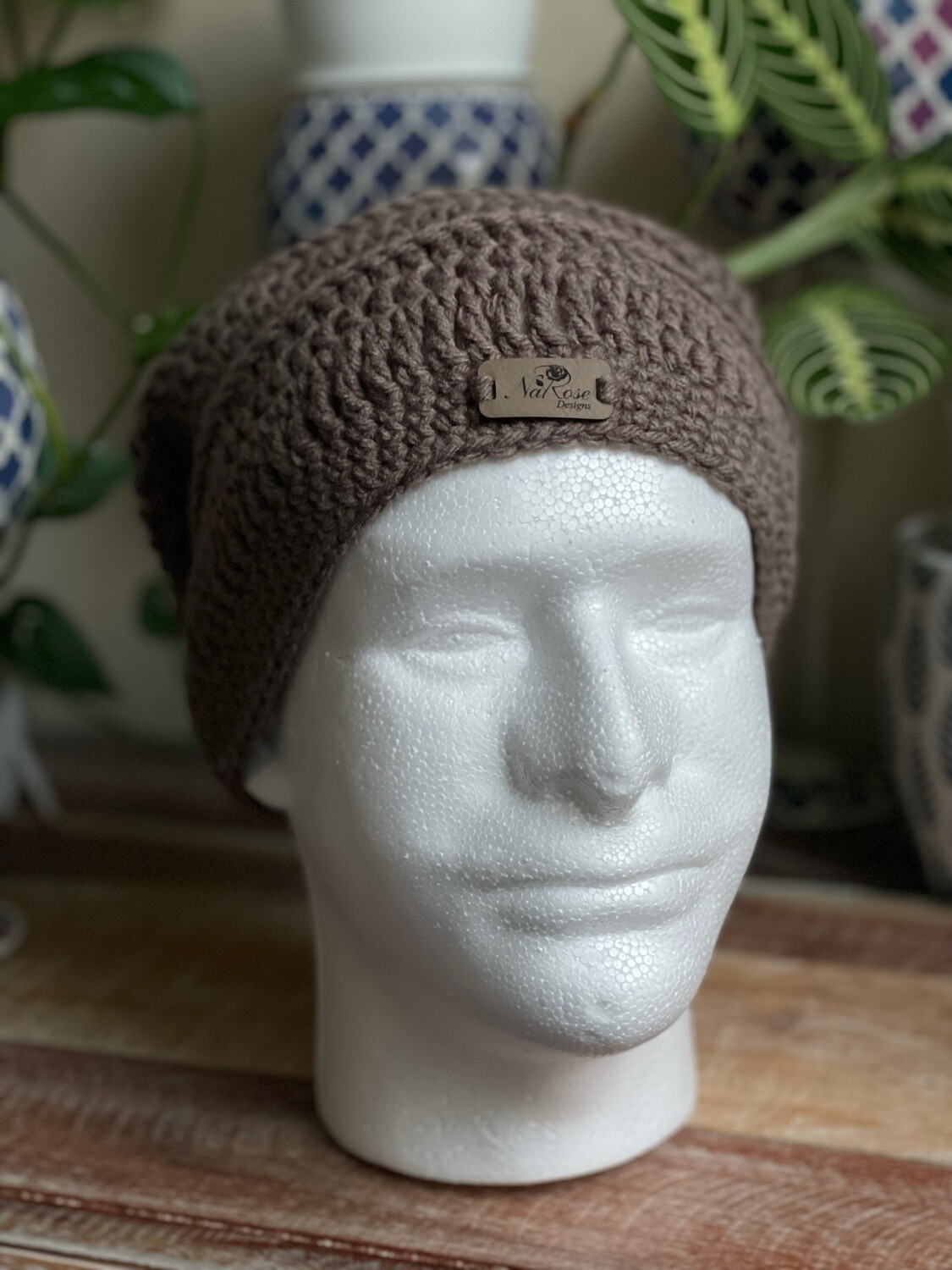 Grey / Taupe NRD Slouchy Beanie Hat