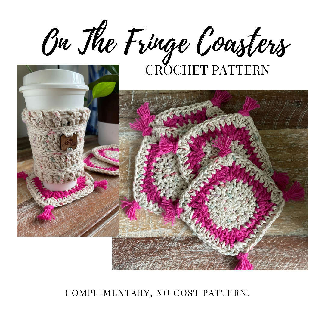 On The Fringe Coaster Free Pattern