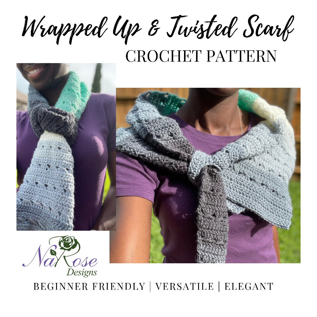 Wrapped Up And Twisted Scarf Pattern