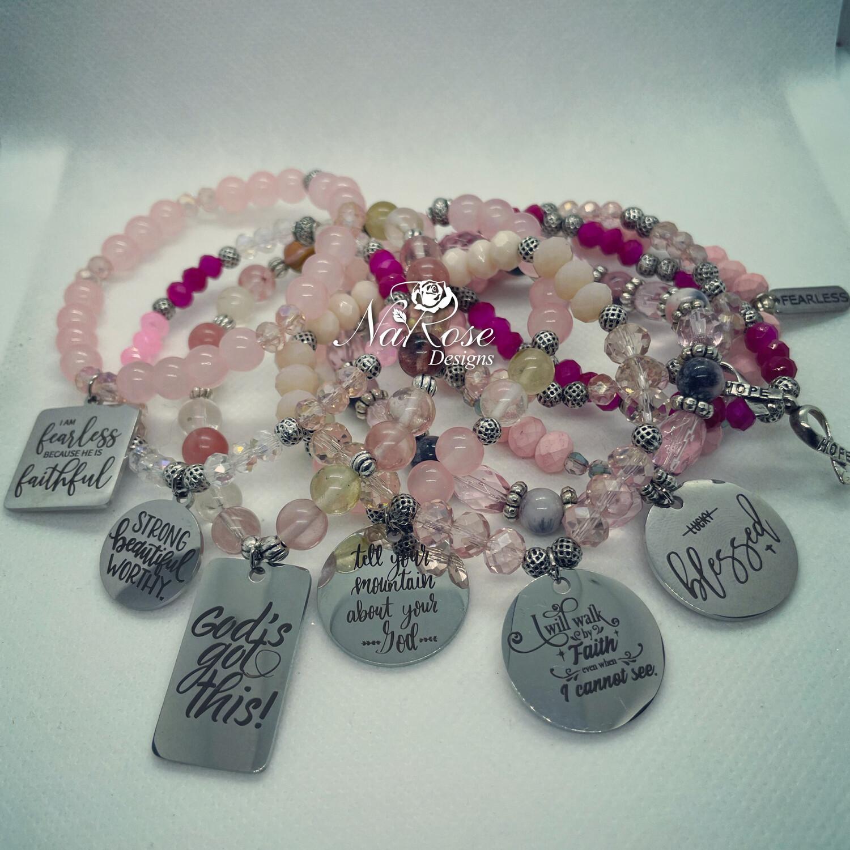 Pink Power Bracelets