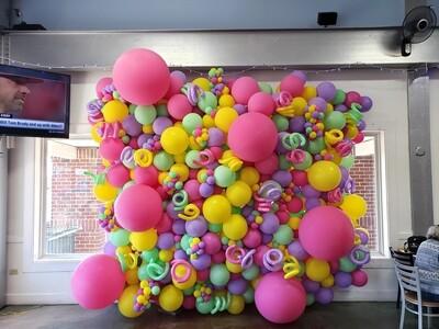 Balloon walls, organic (varying sized bubbles)