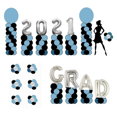 Whole Yard Package, Graduation balloon decorations
