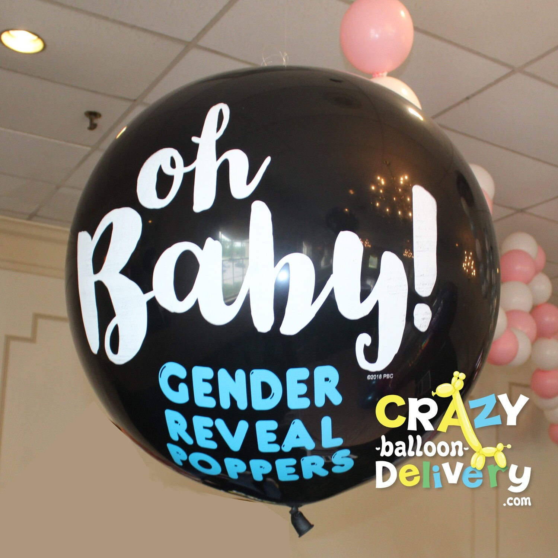 Gender Reveal Balloon Chandlier