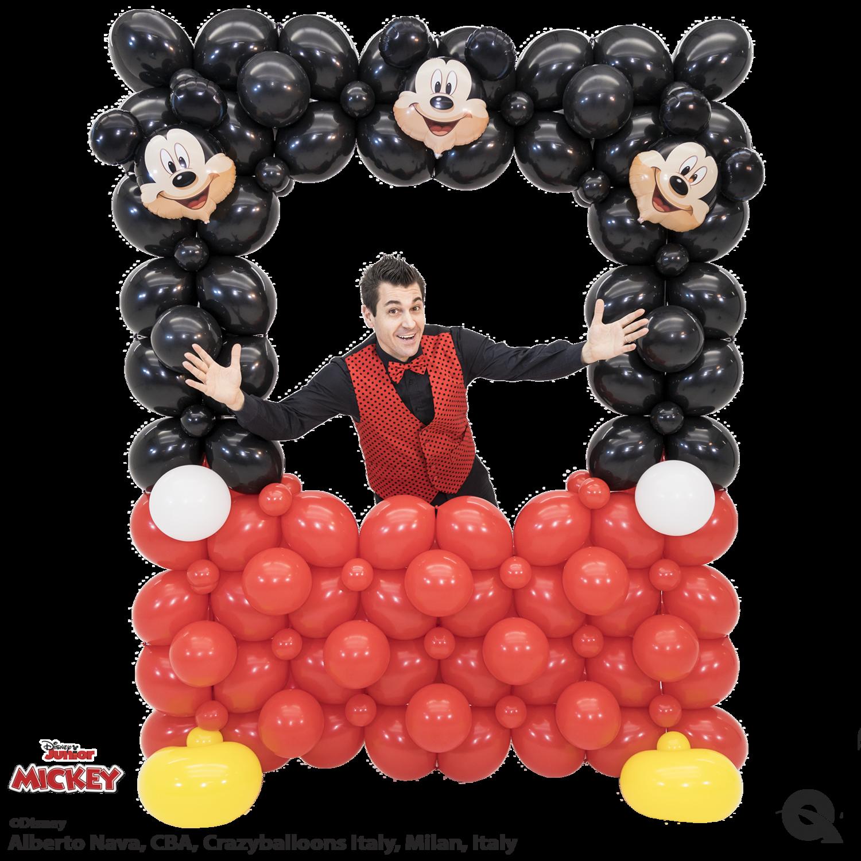 Giant balloon Photo Frame, mickey mouse