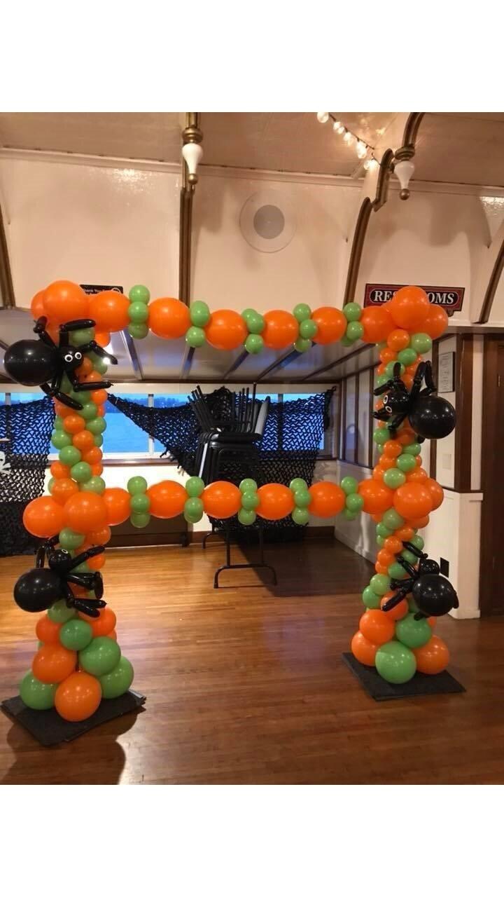 Halloween balloon giant photo frame