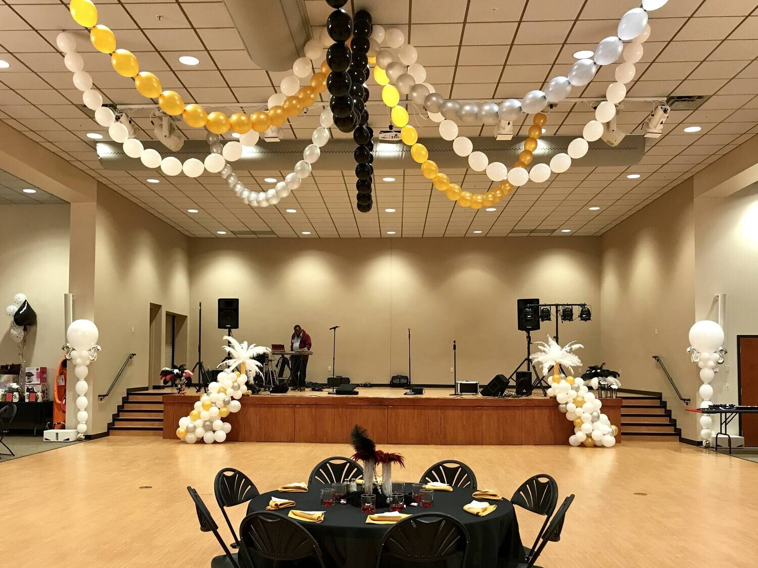 Balloon Chandelier Garland, Installation included, Lasts longer than helium
