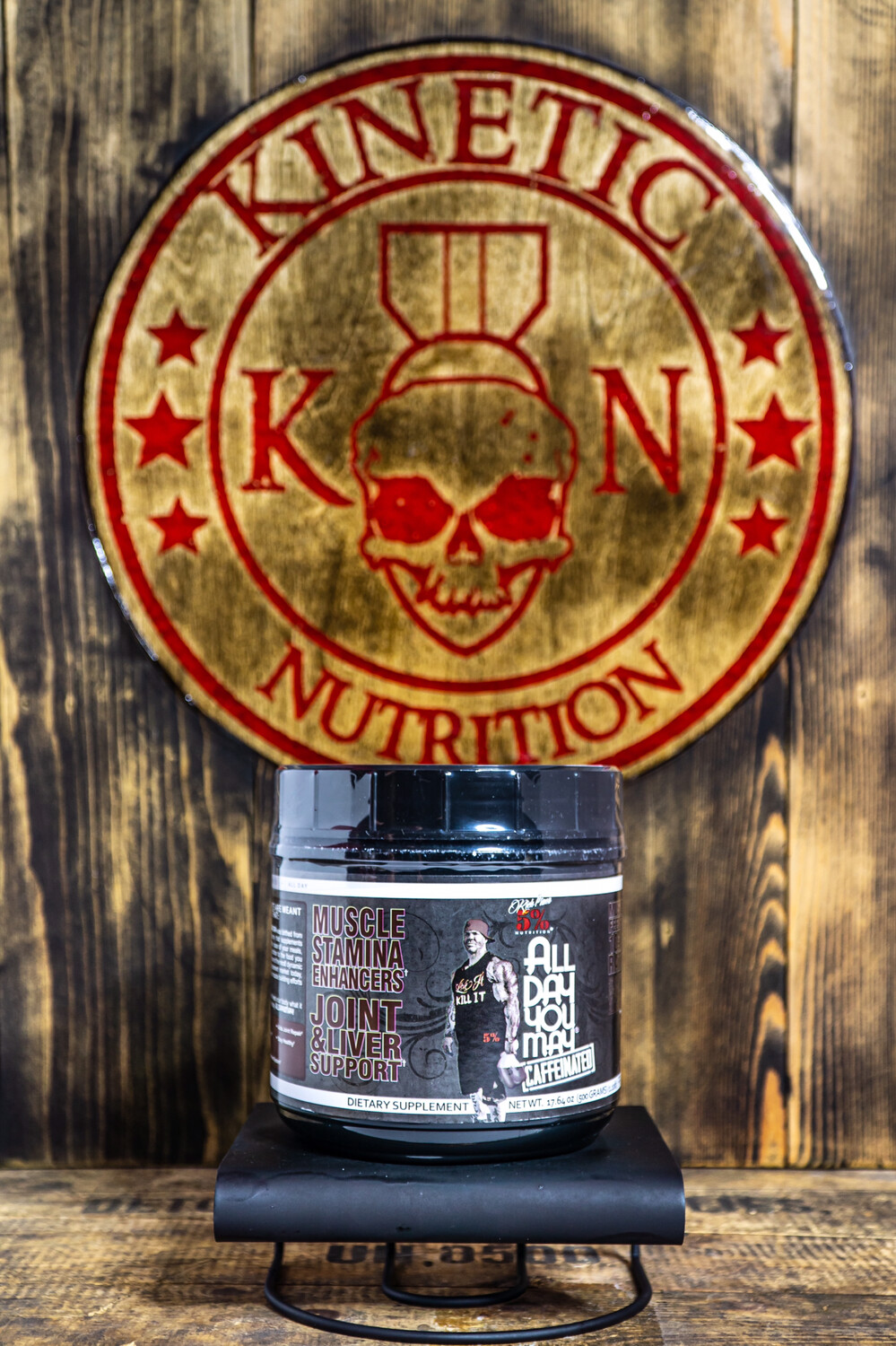 5% Nutrition, All Day You May, 30 Servings, Caffeinated Fruit Punch