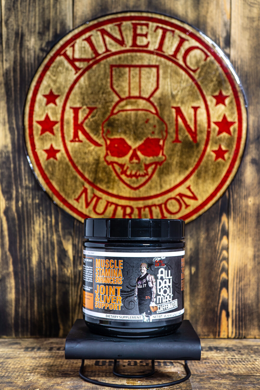 5% Nutrition, All Day You May, 30 Servings, Vanilla Iced Coffee