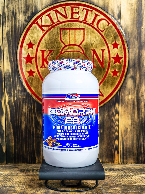 Aps, Isomorph, 28 Pure Whey Isolate, 27 Servings, 2Lb, Honey Granola