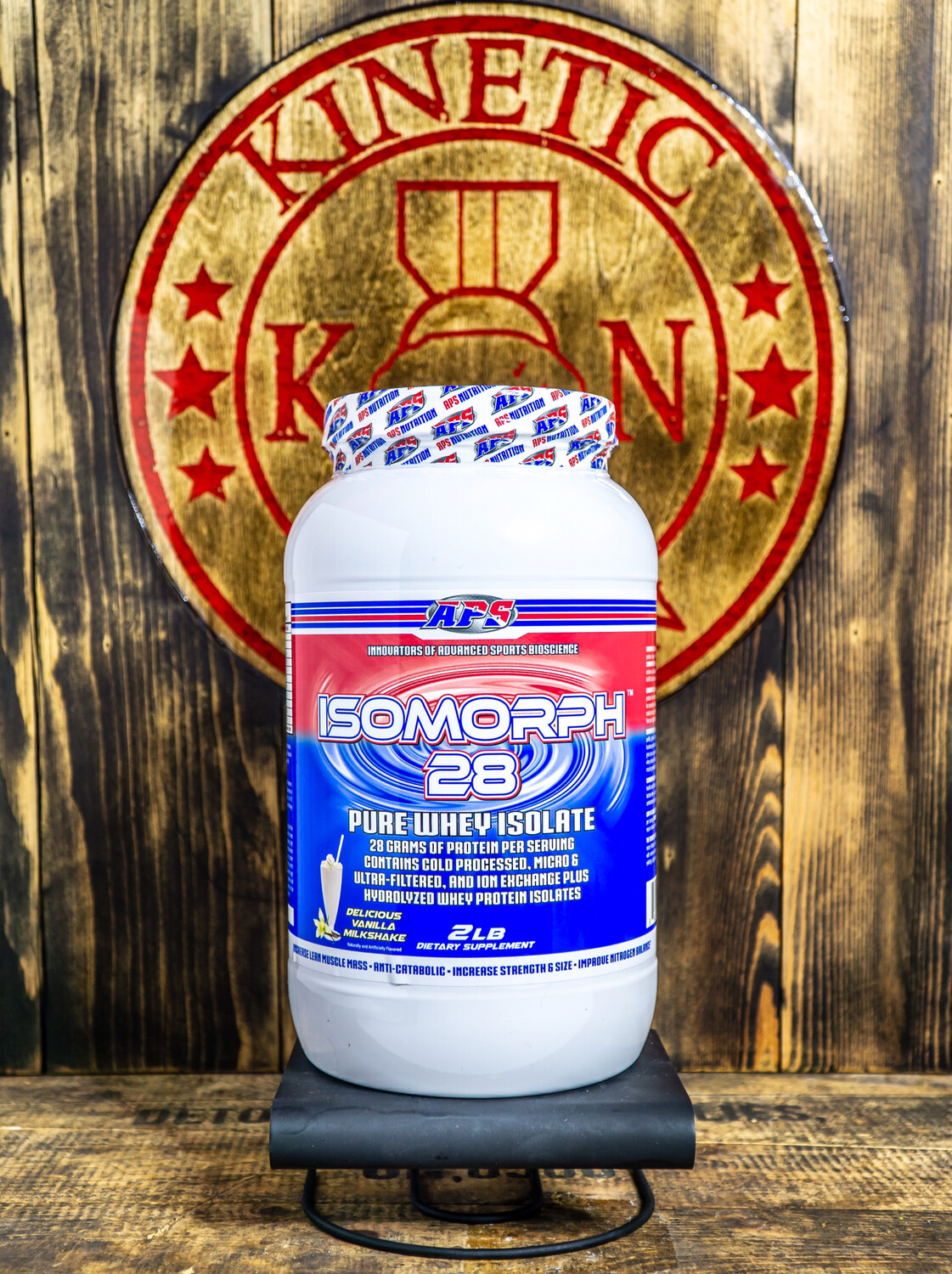 Aps, Isomorph, 28 Pure Whey Isolate, 27 Servings, 2Lb, Del Vanilla Milkshake