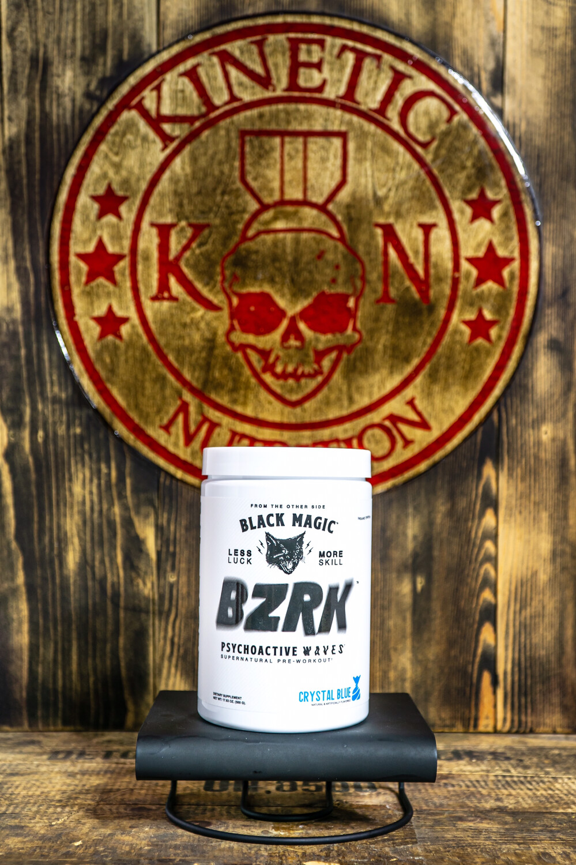 Black Magic, Bzrk, 25 Servings, Crystal Blue