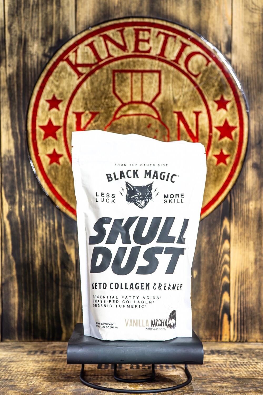 Black Magic, Skull Dust Keto Coffee Creamer, 20 Servings, Vanilla Mocha
